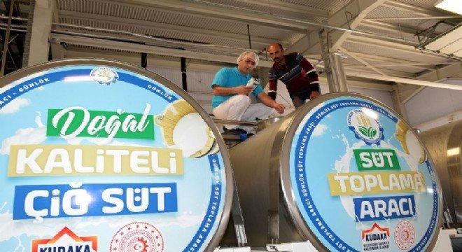 Soğuk Zincir Süt Kurulumu Projesi Başkan Nayif Süer Tarafından Yerinde İncelendi